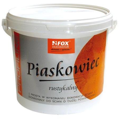 Farba akrylowa strukturalna Piaskowiec Rustykalny FOX