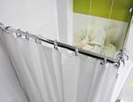 Pod prysznicem zaslony prysznicowe drazki rozporowe polki narozne ADAH
