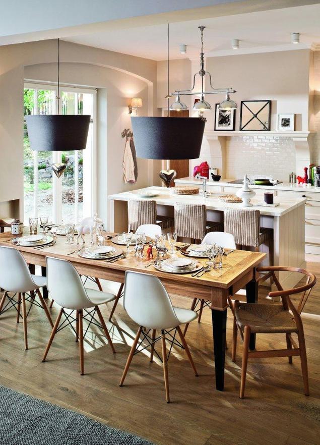Stylowe meble kuchenne. Aranżacja kuchni przestrzennej