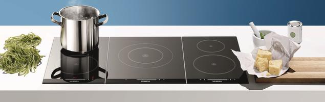 Płyty indukcyjne Domino – zagrasz w gotowanie? Sprzęt AGD Siemens