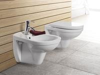 Minimalistyczna biała ceramika sanitarna SELLA