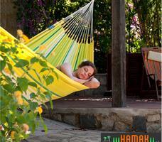 Odpoczynek w hamaku. Bawełniane hamaki ogrodowe