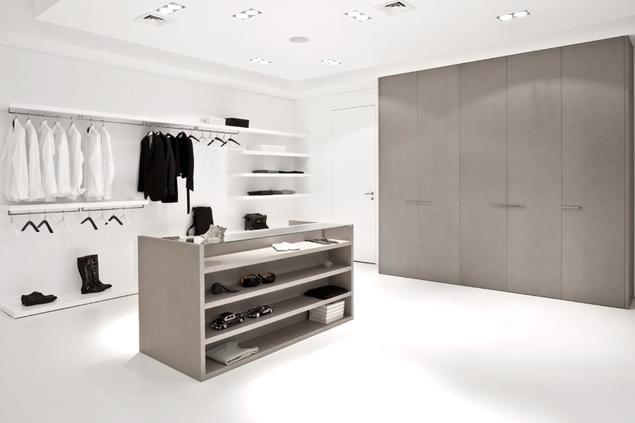 Garderoba w systemie otwartym i zamkniętym