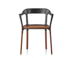 Drewniane krzesło Steelwood DECOINA - zdjęcie 1