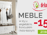 Meble 15% taniej w Dekoria.pl