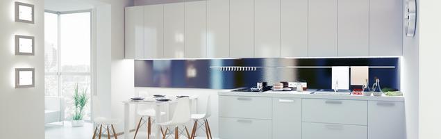 Biała kuchnia i fronty kuchenne lakierowane