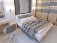Pomysł na sypialnię - proste i nowoczesne wnętrze