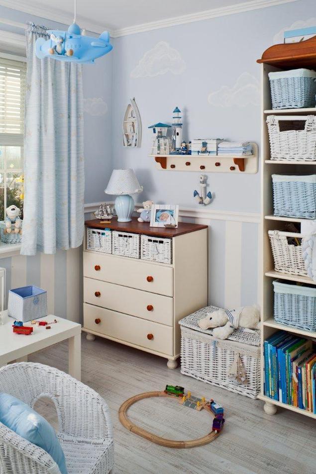 zobacz galeri zdj pok j dzieci cy wystr j wn trz w marynistycznym stylu stronywn. Black Bedroom Furniture Sets. Home Design Ideas